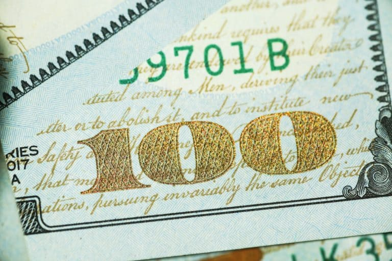 שטר של 100 דולר